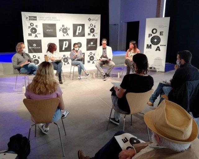 La presentació de la 21a edició del Festival Nacional de Poesia de Sant Cugat