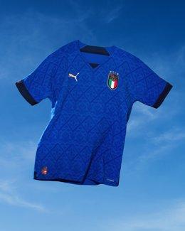 Italia estrenará la camiseta más ligera de Puma contra España.