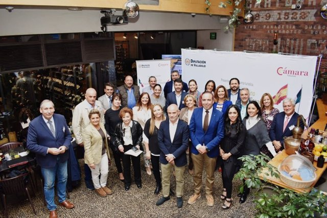 Acto de la delegación de la provincia de Valladolid en México.