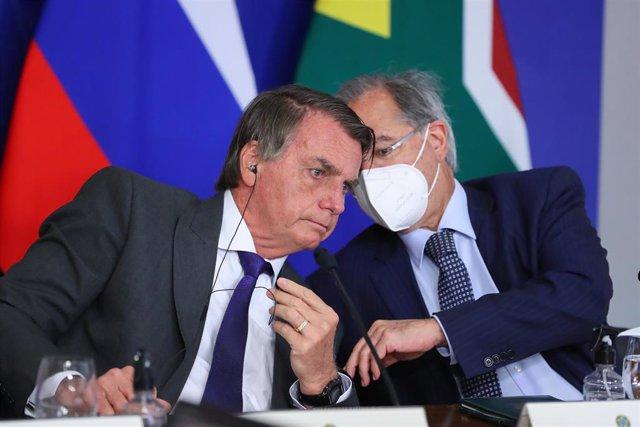 Paulo Guedes y Jair Bolsonaro
