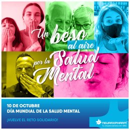 Imagen de la campaña del grupo farmacéutico con motivo del Día Mundial de la Salud Mental (10 de octubre)