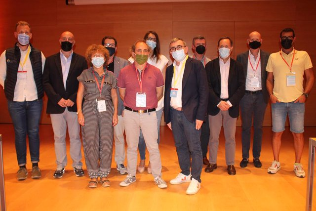 La junta directiva de l'Associació de Càmpings de Girona