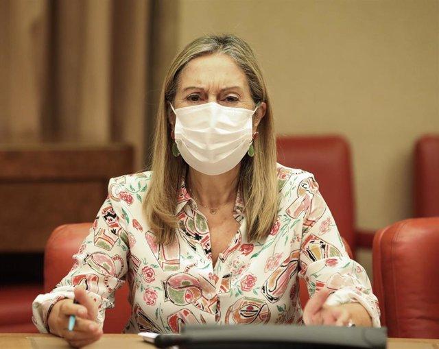 Archivo - La vicesecretaria de Política Social del Partido Popular, Ana Pastor.