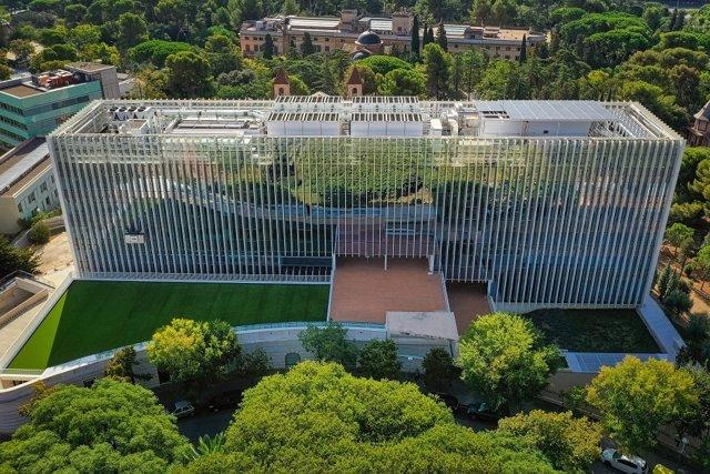Imatge del nou edifici BSC-Repsol Building