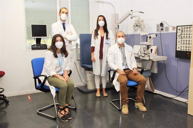 Oftalmólogos del Hospital Clínico San Carlos.