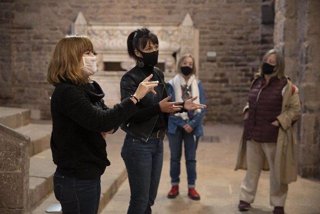 Arxiu - Visita adaptada al Castell de Cardona per a les Jornades Europees de Patrimoni del 2020