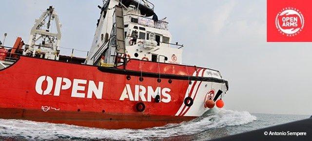 """El Open Arms vuelve al Mediterráneo central tras 5 meses de """"bloqueo administrativo"""" y reparaciones"""