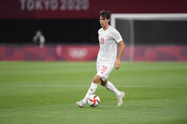 Archivo - Juan MIRANDA (ESP) during the Olympic Games Tokyo 2020, Football Men's First Round Group C, between Egypt and Spain on July 22, 2021 at Sapporo Dome in Sapporo, Japan - Photo Photo Kishimoto / DPPI