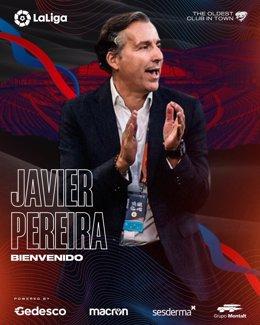 Javier Pereira, nuevo técnico del Levante