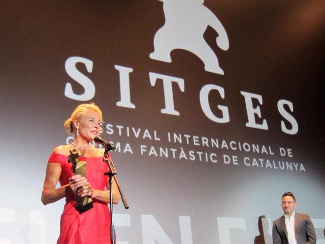 L'actriu Belén Roda rep el Gran Premi Honorífic del Festival de cinema de Sitges