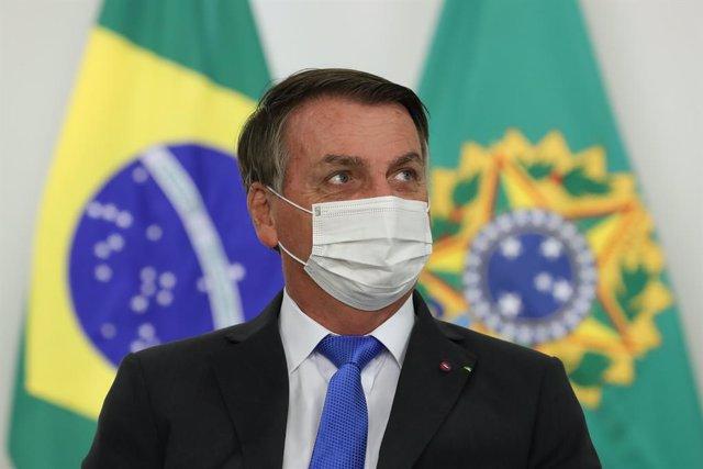 Archivo - El presidente de Brasil, Jair Bolsonaro.