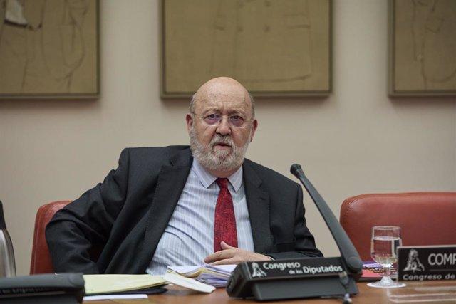 Archivo - Arxiu - El president del Centre d'Investigacions Sociològiques, José Félix Tezanos