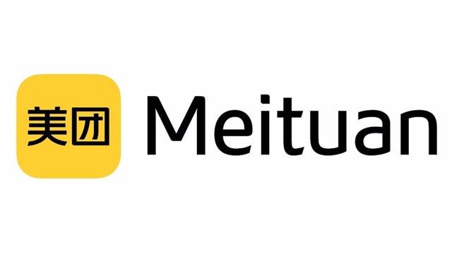 Logo de la empresa china Meituan.
