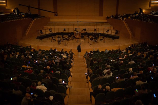 Archivo - Arxiu - Un concert a L'Auditori de Barcelona