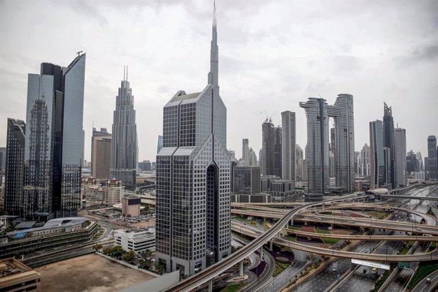 Archivo - La ciudad de Dubái, en Emiratos Árabes Unidos (EAU), durante la pandemia de coronavirus