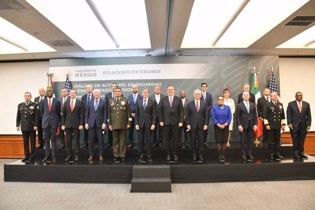 Visita del secretario de Estado estadounidense, Antony Blinken, a México para abordar la cooperación en materia de seguridad entre ambos países