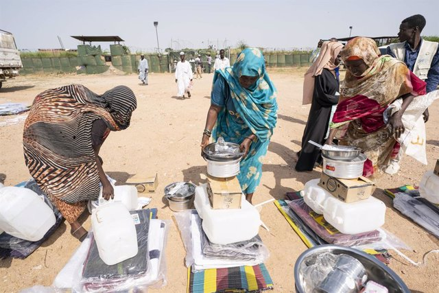 Archivo - Campo de desplazados de Otash, Sudán del Sur