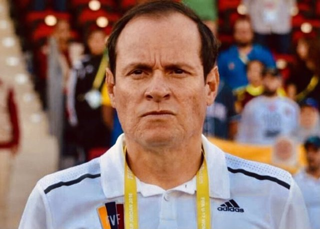 El exseleccionador nacional de Venezuela, Kenneth Zseremeta