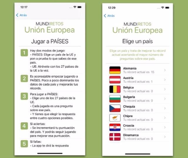 MundiRetos - Unión Europea