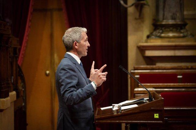 El conseller d'Educació de la Generalitat, Josep Gonzàlez-Cambray