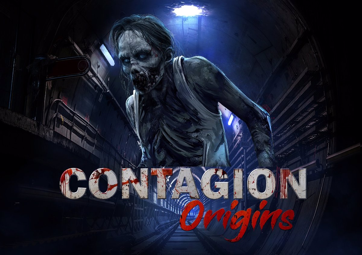 Contagion Origins in Virtual Arena is an RV halfway through the escape room that remains several generations behind