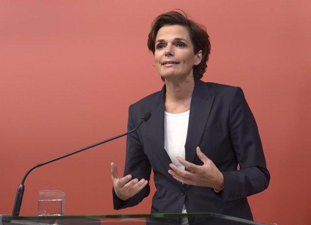La secretaria general del Partido Socialdemócrata Austriaco (SPO), Pamela Rendi-Wagner
