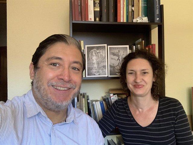 Archivo - Pedro Pablo Guerrero y Alicia Simmross, fundadores de 'Lastarria & De Mora'.