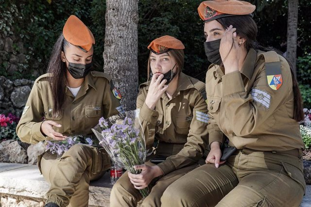 Mujeres militares del Ejército israelí
