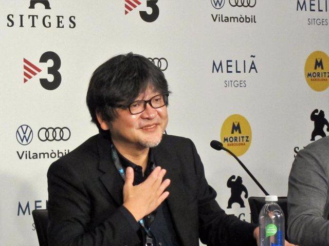 El director Mamoru Hosoda, en el Festival de Cinema de Sitges