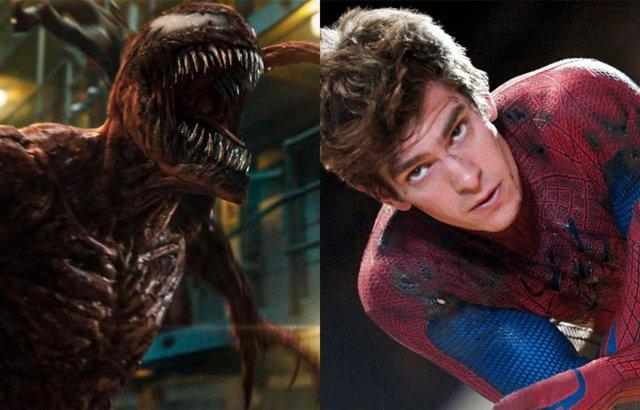 Venom junto al Spider-Man de Andrew Garfield