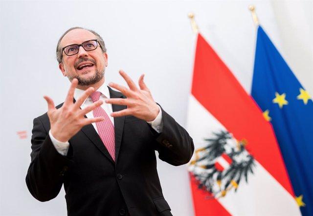 El ministro de Asuntos Exteriores de Austria, Alexander Schallenberg