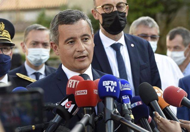 Archivo - El ministro del Interior de Francia, Gerald Darmanin