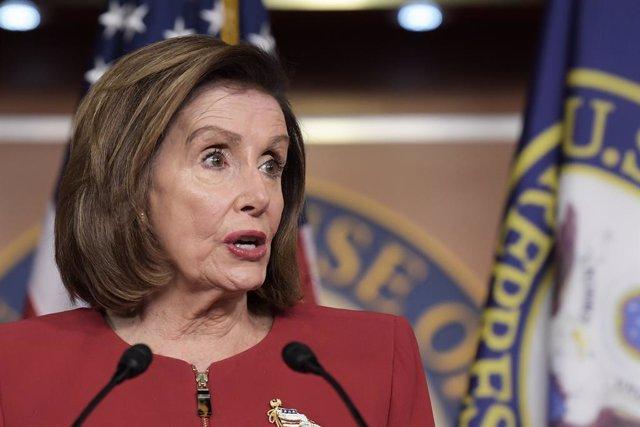 Archivo - La presidenta de la Cámara de Representantes de Estados Unidos, Nancy Pelosi