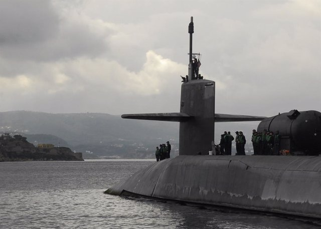 Archivo - Arxiu - Submarí 'USS Florida' de la Marina dels Estats Units