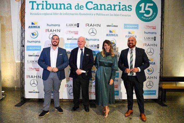 Wolfgang Kiessling y la Compañía Loro Parque reciben el premio Tribuna a la Trayectoria Empresarial