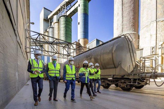 Visita a las instalaciones de Cementos Alfa en Mataporquera (Cantabria)