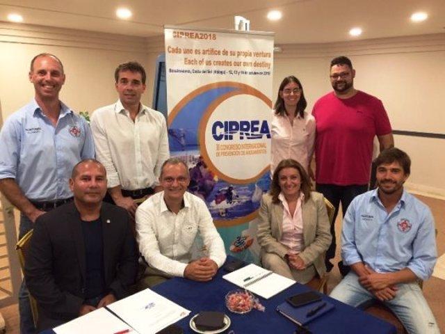 Una de las últimas reuniones de la Flass, celebrada con motivo de la anterior edición del Congreso Internacional de Prevención de Ahogamientos.