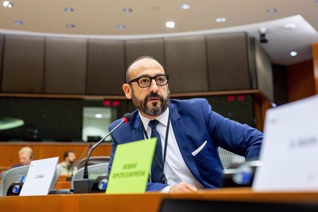 Arxiu - L'eurodiputat de Cs, Jordi Cañas