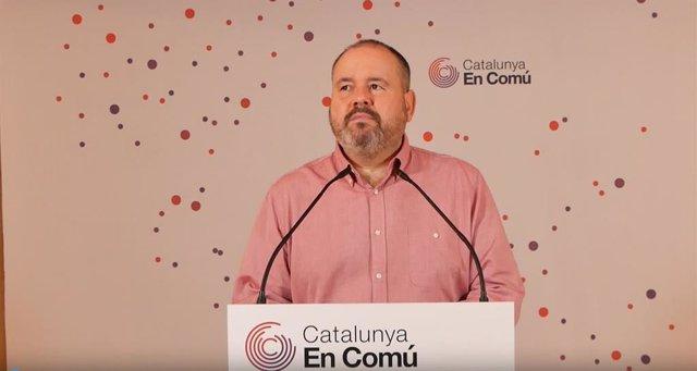 Archivo - Arxiu - El portaveu dels comuns i diputat al Congrés, Joan Mena