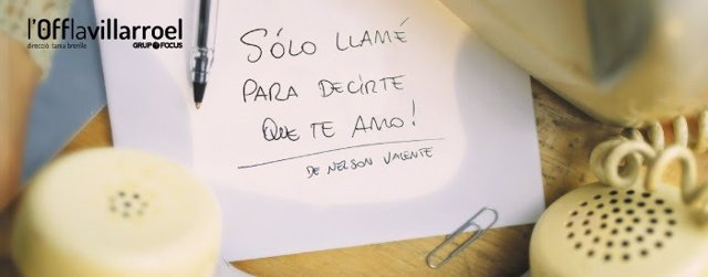 La Villarroel prorroga la obra 'Sólo llamé para decirte que te amo' hasta el 24 de octubre