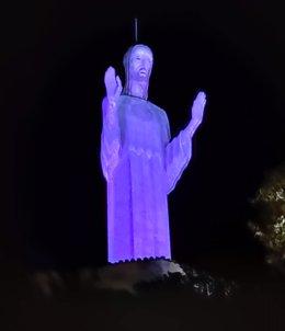 EL Cristo del Otero de Palencia.