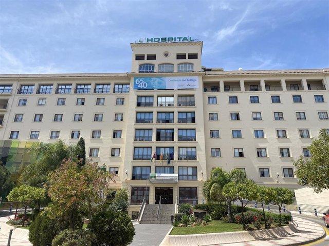Archivo - Fachada del Hospital Regional de Málaga