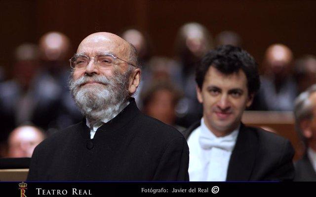 El Teatro Real lamenta la pérdida de Luis de Pablo, uno de los principales representantes de la Generación del 51