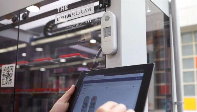 ITI prueba con éxito una nueva tecnología de digitalización industrial en la planta de motores de Ford en Almussafes