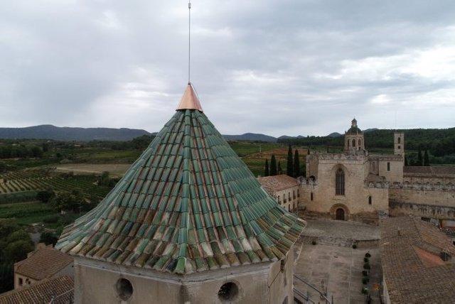 Portal de l'Assumpta del monestir de Santes Creus, a Aiguamúrcia (Tarragona)