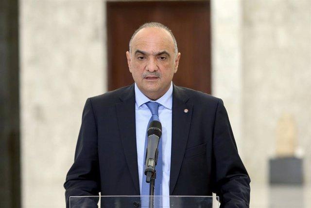 El primer ministro de Jordania, Bisher al Jasauné