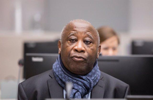 Archivo - El expresidente de Costa de Marfil Laurent Gbagbo.