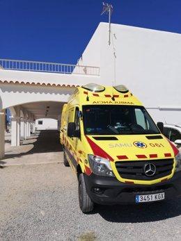 Archivo - Ambulancia del SAMU 061.