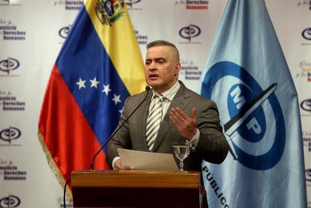 Archivo - El fiscal general de Venezuela, Tarek William Saab.