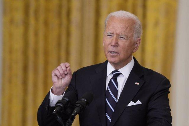 Archivo - El presidente de Estados Unidos, Joe Biden.